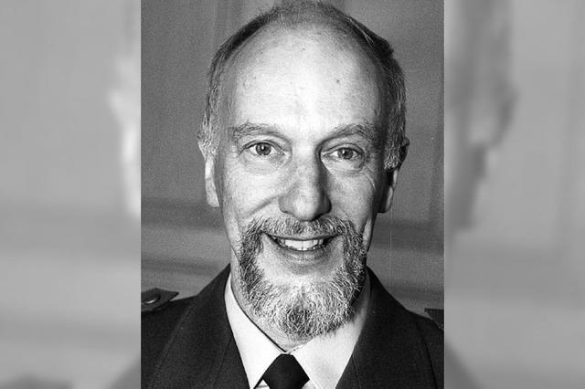 Der frühere Polizeichef Rudolf Rohrer ist tot