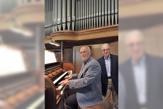 Eine Orgel kommt in die Jahre