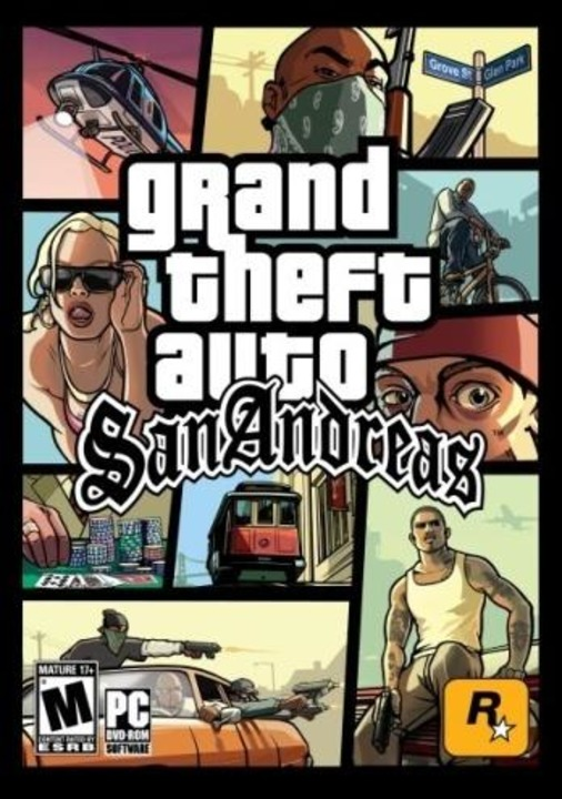 Platz 23: Grand Theft Auto: San Andrea...ssen von San Andreas zu kontrollieren.