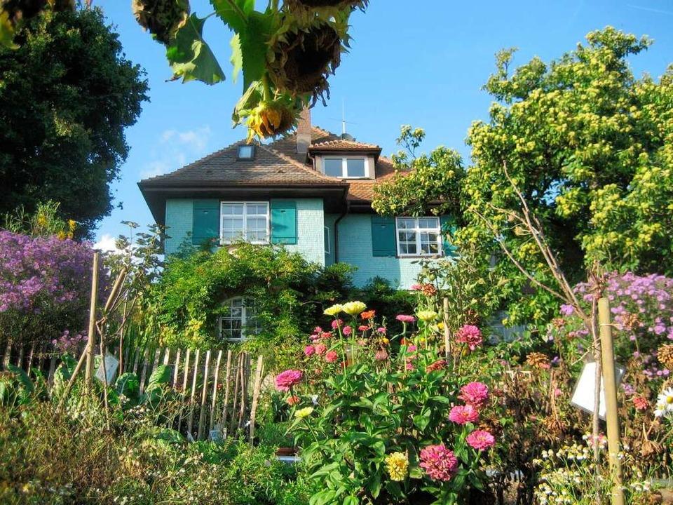 Hier lebte der Dichter: Hermann-Hesse-Haus in Gaienhofen    Foto: Eva Eberwein