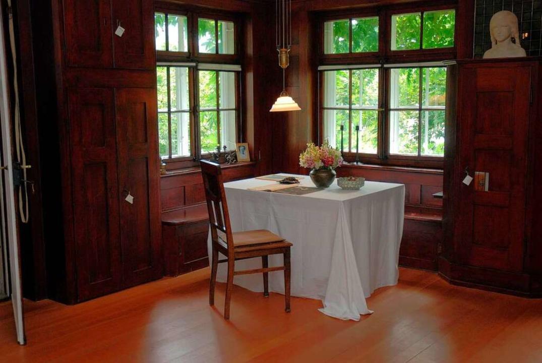 Ein Blick ins Hesse-Haus    Foto: promo