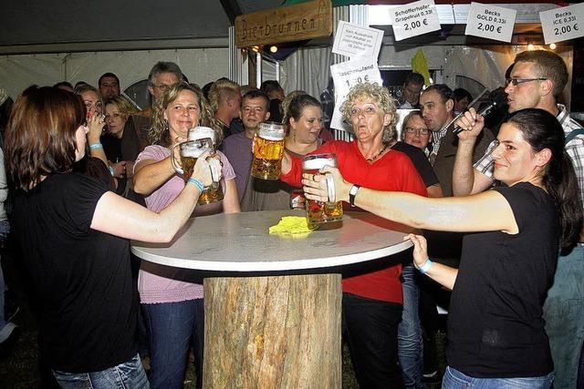 Party mit Gästen aus dem Norden