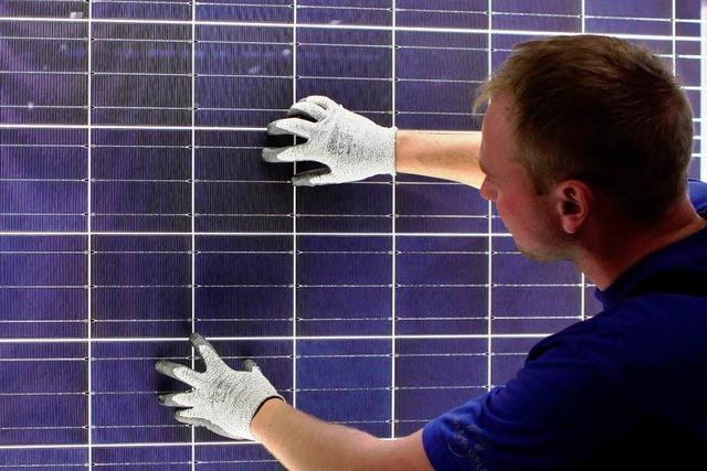 Weniger Jobs in der Solarbranche als gedacht