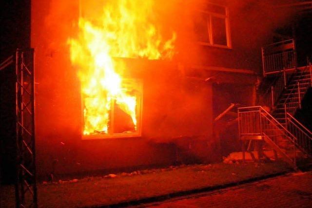 Feuer in Reinigungsfirma: Polizei vermutet Brandstiftung