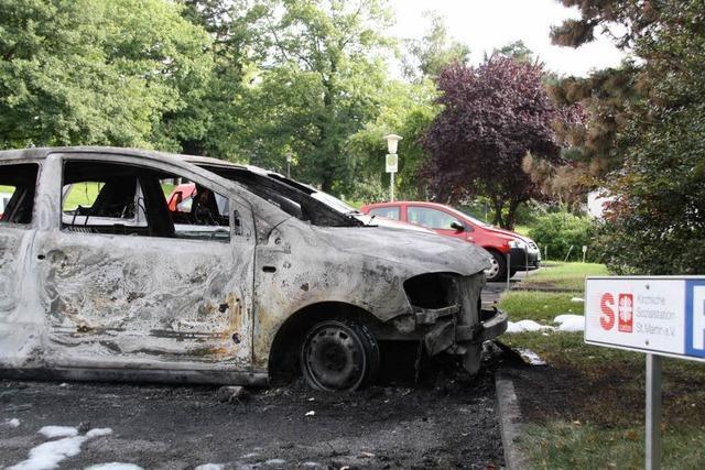Brandserie bei Sozialstation: Polizei nimmt Verdächtigen fest