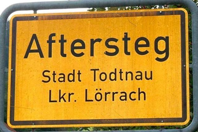 Warum heißt Aftersteg Aftersteg?
