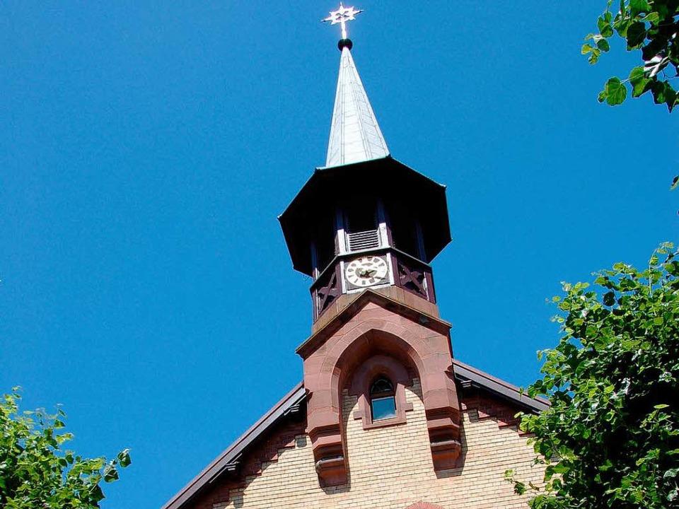 Jugendstilkirche in Niederweiler  | Foto: Andrea Drescher