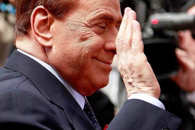 Berlusconi zum Sparkpaket: