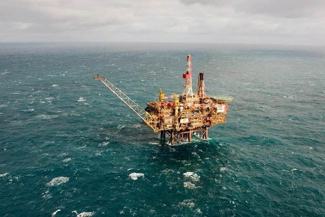Ölteppich auf der Nordsee