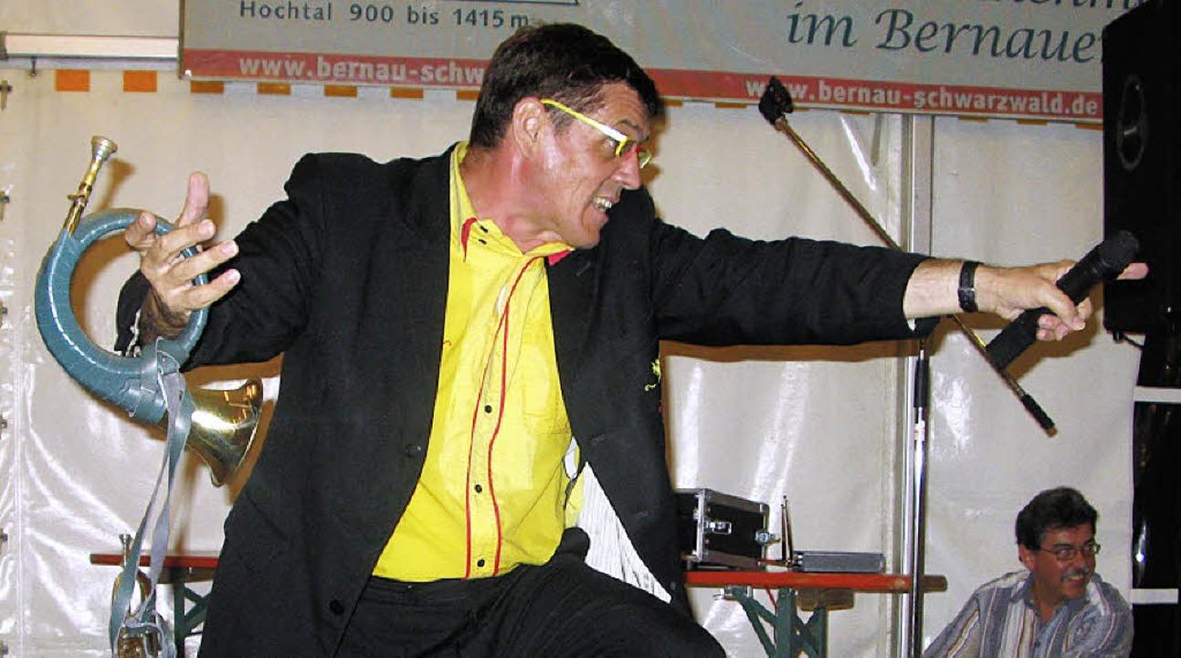 Helmut Dold in seinem Element.   | Foto: sub
