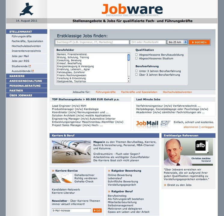 jobware gehaltsrechner