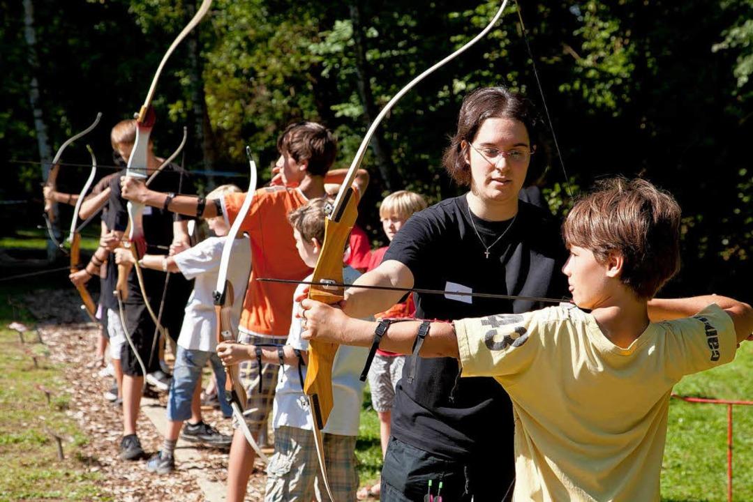 Robin-Hood-Gefühle beim Bogensport - Emmendingen - Badische