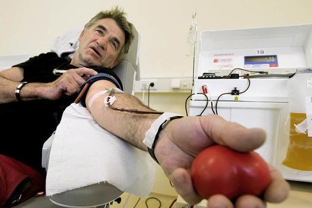 Basel ist auf der Suche nach Blutspendern