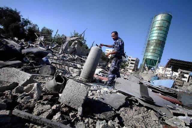 Palästinenser wollen vorerst Waffenruhe