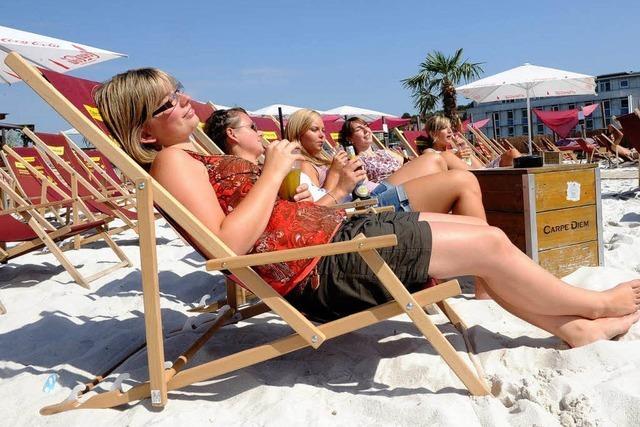 36 Grad sorgen für den heißesten Tag des Jahres
