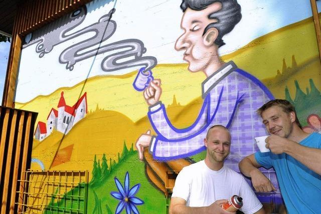 Graffiti gegen Geld: Die Honorarsprüher