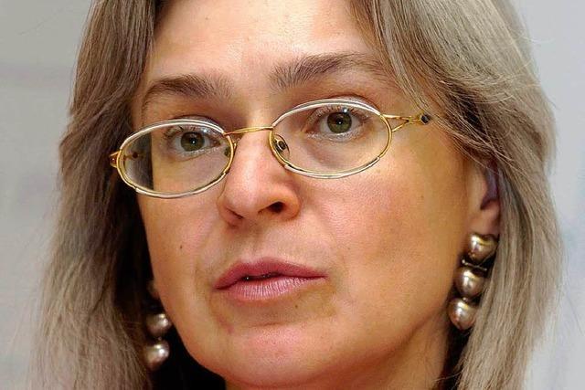 Heiße Spur im Fall Politkowskaja
