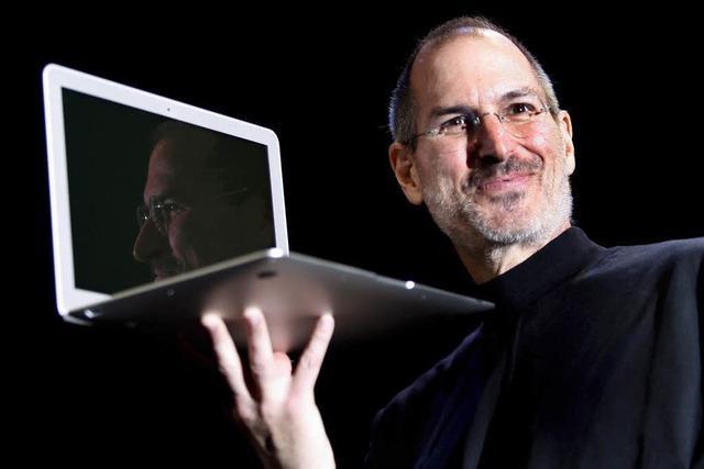Apple-Chef Steve Jobs tritt ab