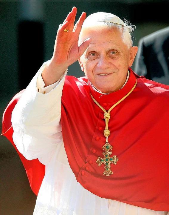 Der Papst macht auch in Lahr Station – gleich zweimal.  | Foto: dapd
