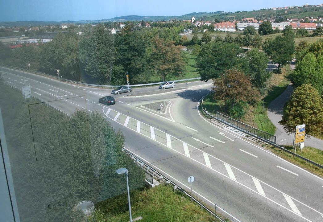 Durch Baumaßnahmen an der Römerstraße ...ll der Verkehr besser gelenkt werden.   | Foto: Senf