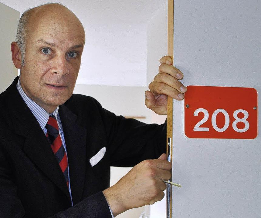 Peter Paul Gardosch von Krosigk ist Ha...llschafter der neuen Eigentümerin DKH.  | Foto: Elisabeth Willers