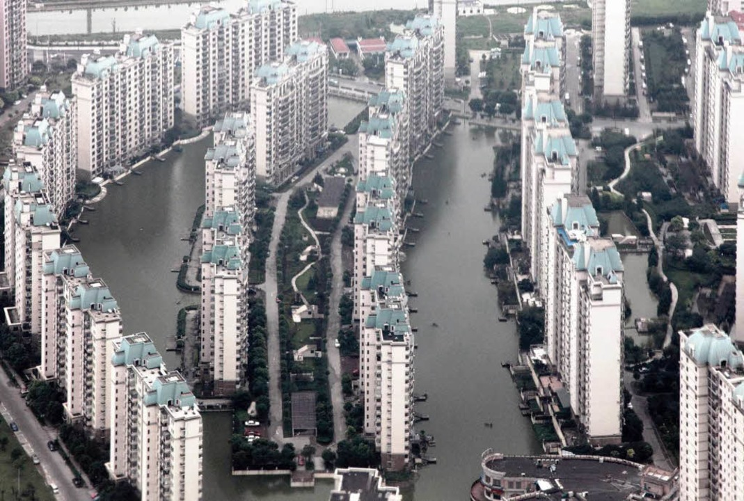Hochhäuser in Schanghai   | Foto: dpa