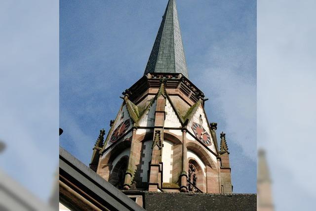 Kirchturmbesteigung in Schönau