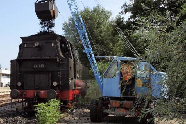 Arbeit auf der Dampflok: Früher eine Drecksarbeit, heute Nostalgie
