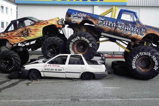 BZ verlost Freikarten für Monster-Truck-Show