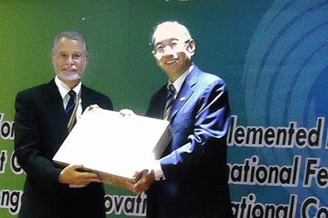Auszeichnung für Staufener HAG in Taiwan