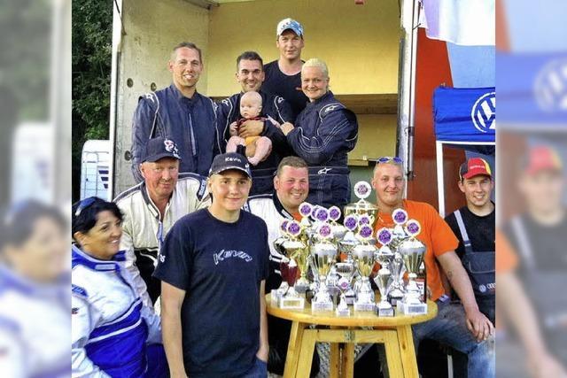 Das Racingteam holt 17 Pokale