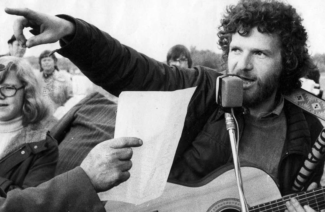 Der Regionalrevolutionär damals und heute     | Foto: Schneider/BZ