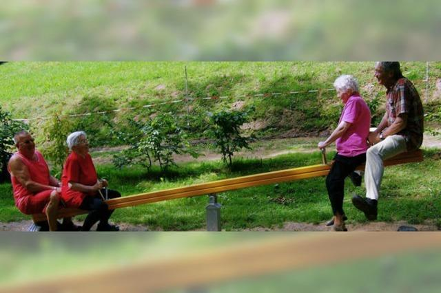 Das erklärte Ziel ist Gelassenheit im Alter