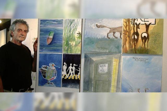 Künstler öffnen die Ateliers