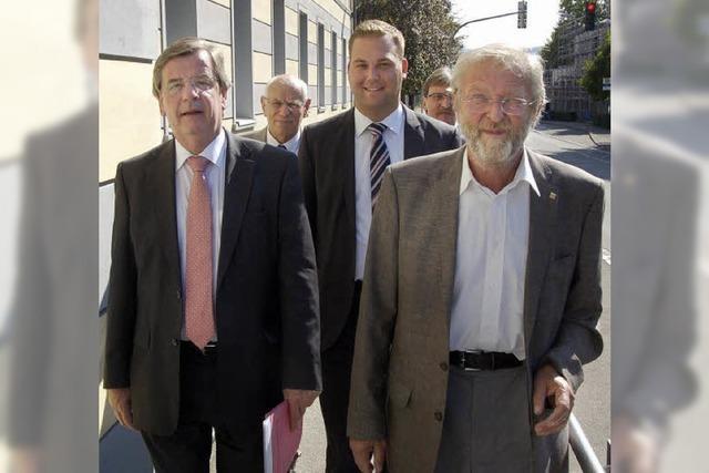 Stächele-Besuch im St. Josefshaus: Kosten sorgen für ein präsidiales Schauern