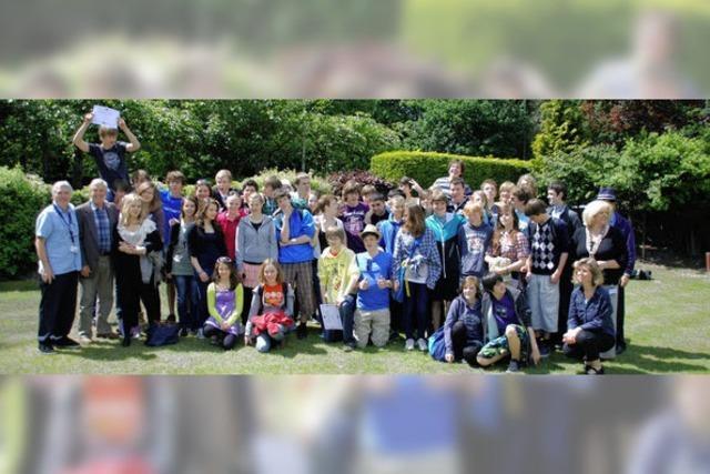 Englischunterricht mit Sightseeing und Chillen