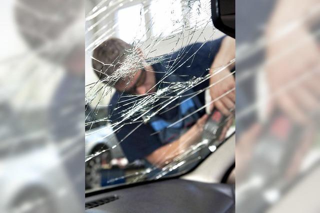 Vorgetäuschter Glasbruch - Geldstrafe für Versicherungsbetrug