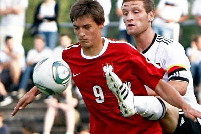 U-20-Fußballer schlagen Polen in Offenburg mit 4:2