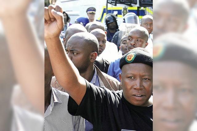 Wortgewaltiger ANC-Politiker hetzt gegen Weiße