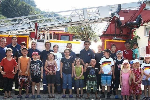 Feuerwehrleute der Zukunft