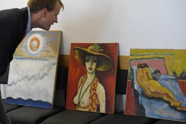 Sagen mutmaßliche Kunstfälscher aus Freiburg im Prozess aus?