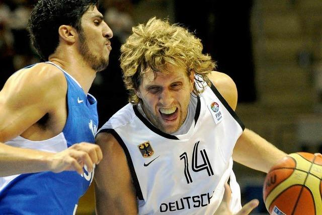 Basketball-EM: Deutschland gewinnt Auftaktspiel