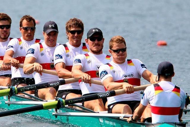 Historische Siegesserie: Deutscher Achter gewinnt WM-Gold