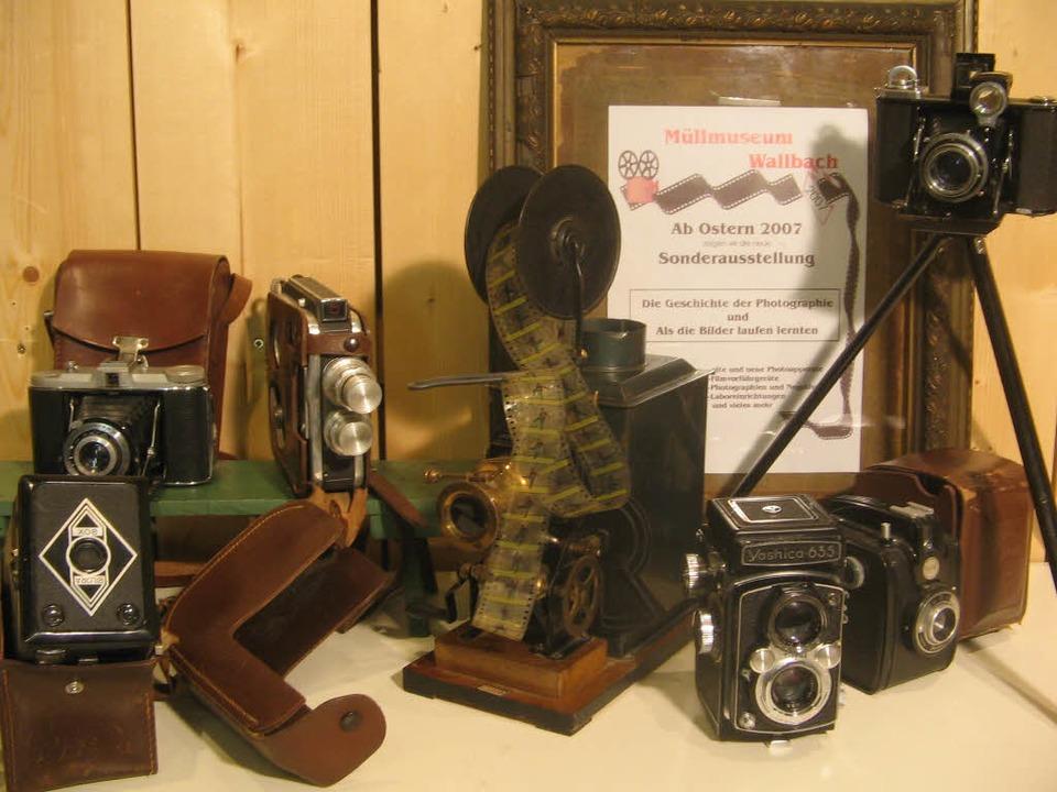 Fundstücke aus dem Müllmuseum Wallbach.  | Foto: BZ