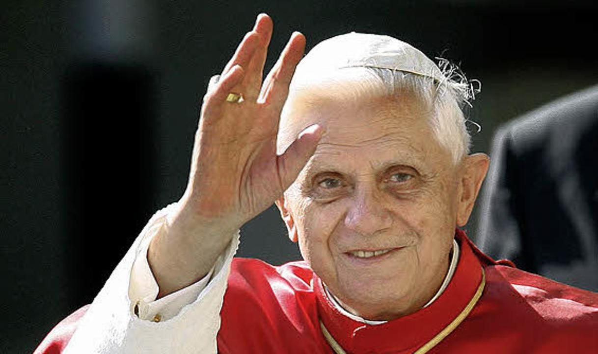 Ein Publikumsmagnet auch in Freiburg: Papst Benedikt XVI.   | Foto: dapd