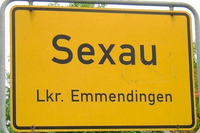 Warum heißt Sexau Sexau?