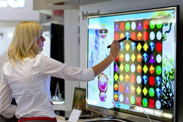 Neue TV-Geräte sind einer der Schwerpunkte auf der IFA