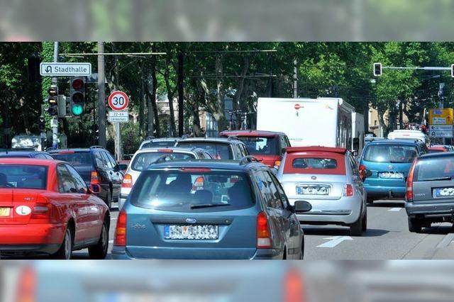 Straßenbau in Freiburg: Kommt es erneut zum Stauchaos?