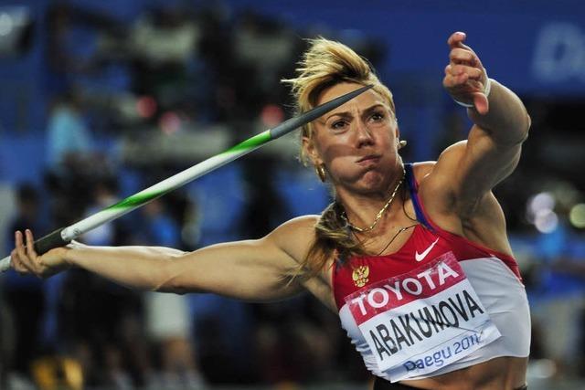 Christina Obergföll nur Vierte im Speerwurf