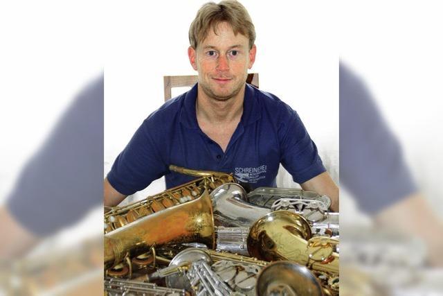 Der Saxophonist von Wehr